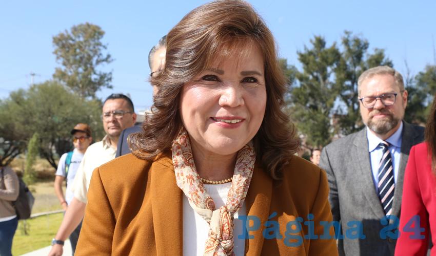 Gabriela Espinosa Castorena, magistrada presidenta del STJE (Foto: Archivo)