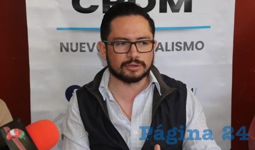 Jesús Ramírez Pérez, líder de la CROM (Foto: Archivo)
