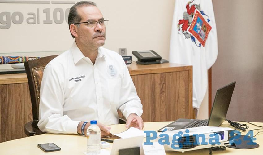 Son 12 Pacientes Recuperados por COVID-19  en Aguascalientes: Martín Orozco Sandoval
