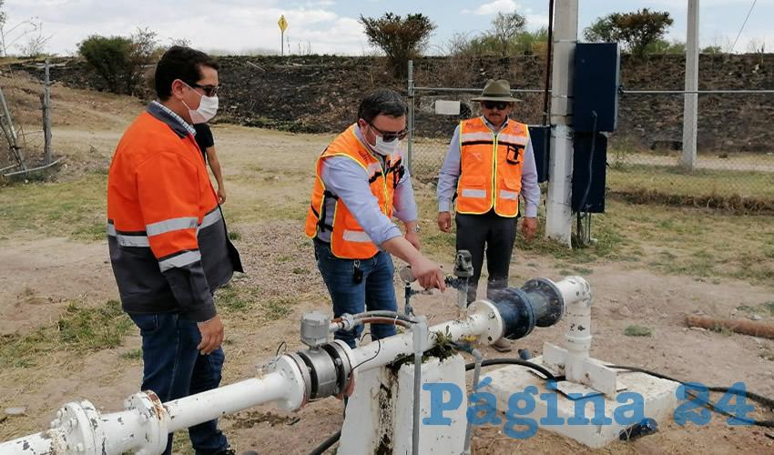 Municipio Supervisa Operación del Servicio  de Agua Durante la Emergencia Sanitaria