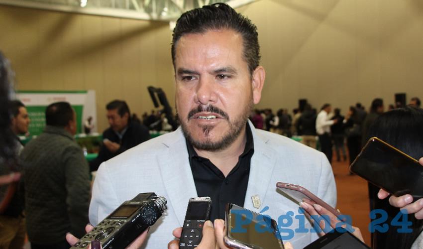 Daniel López Martínez, alcalde de Ojocaliente (Foto Archivo Página 24)