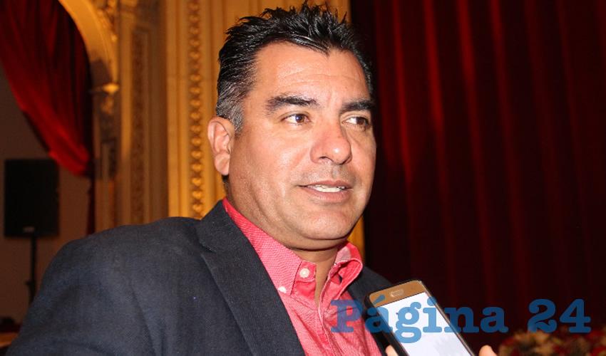 """José Luis Figueroa Rangel """"El Cepillo"""" (Foto Archivo Página 24)"""