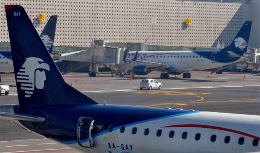 Aeroméxico Pretende Despidos y Renegociación de Contratos