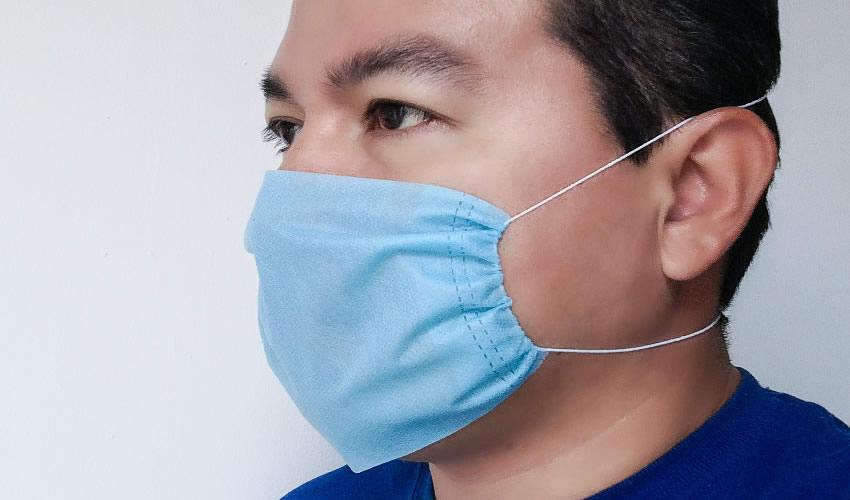 Según el portal RT, se trata de un tipo específico de tejido que impide que el covid-19 penetre en las vías respiratorias
