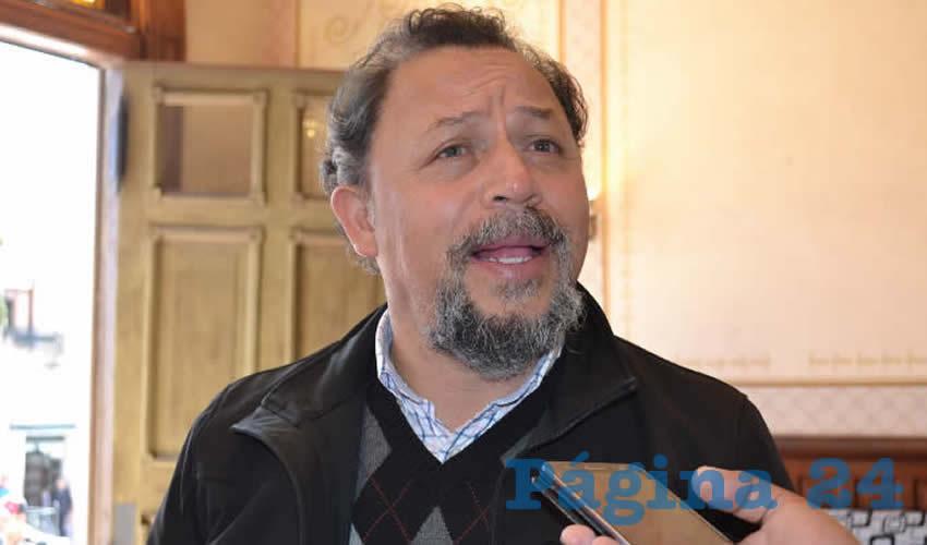 Alejandro Rivera Nieto, dirigente del Sindicato Independiente de Trabajadores del Estado de Zacatecas (SITEZ) (Foto: Archivo Página 24)