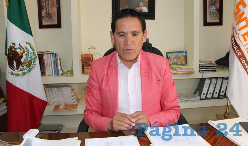 Óscar Castruita Hernández (Foto Archivo Página 24)