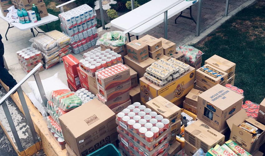 El personal de SUPERISSSTE distribuyó los productos de forma segura y eficiente