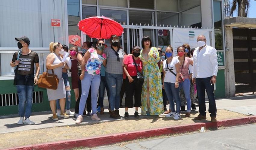 Sexoservidoras pusieron una queja en la CDHEA contra el presidente municipal de Pabellón de Arteaga (Foto: Eddylberto Luévano Santillán)