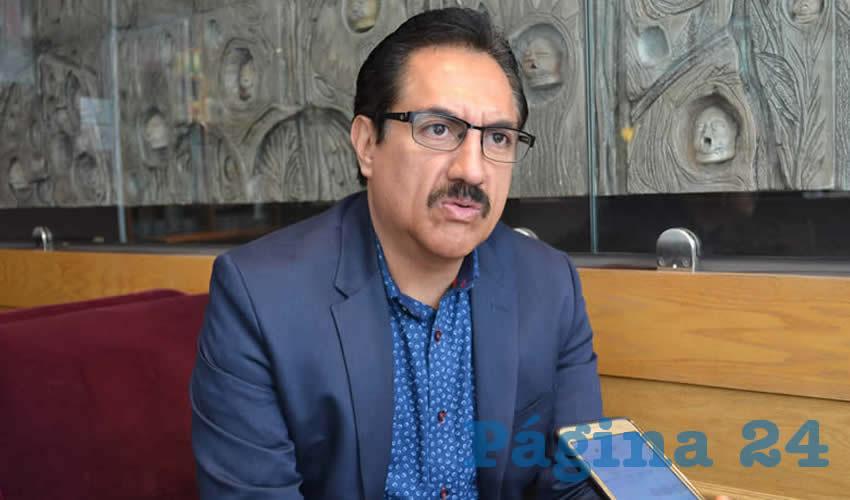Camerino Eliazar Márquez Madrid, representante ante el Instituto Nacional Electoral (INE) del Partido de la Revolución Democrática (PRD) (Foto: Archivo Página 24)