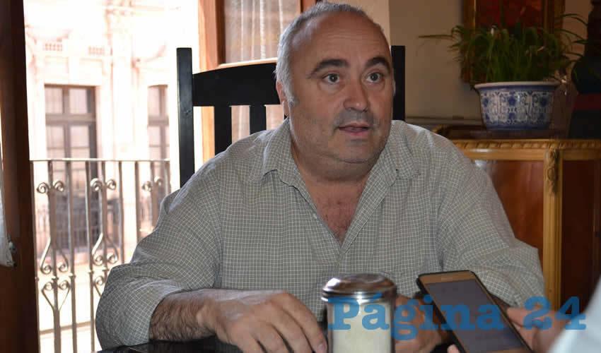 Álvaro Zaldívar Abreu (Foto: Archivo Página 24)