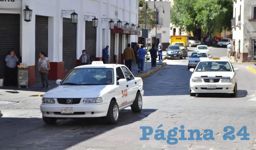 La mayoría de los taxistas han sido perjudicados por la pandemia (Foto: Merari Martínez)
