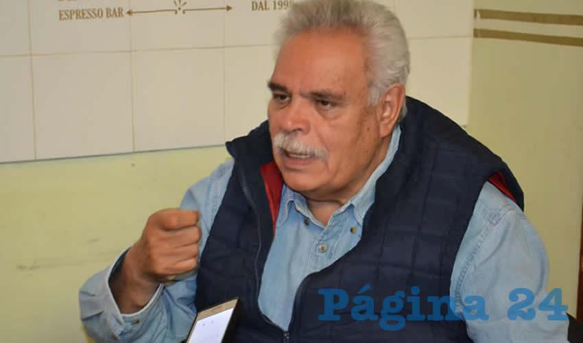 José Luis Medina Lizalde, integrante de Movimiento Regeneración Nacional (Morena)