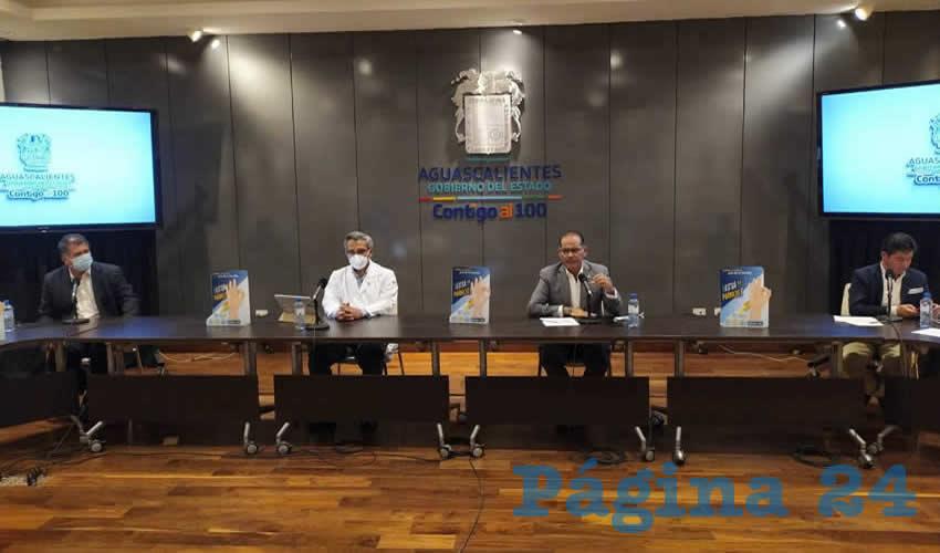 Aguascalientes Seguirá Tomando Decisiones Sobre  la Contingencia con Responsabilidad: Martín Orozco