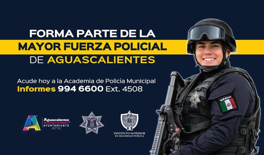 Se Reabre la Convocatoria Para  Aspirantes a Policías Municipales