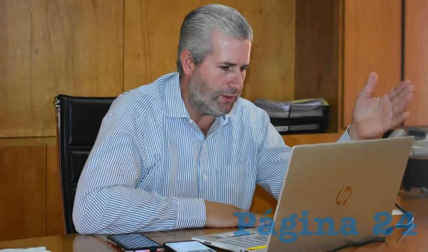 Antonio Aceves Sánchez, alcalde del municipio de Jerez (Foto Archivo Página 24)