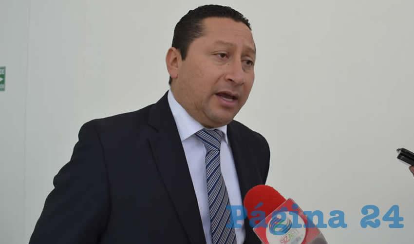 Juan Antonio Viesca Vázquez, delegado de la Secretaría de Relaciones Exteriores (SRE) (Foto: Archivo Página 24)