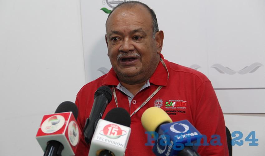 Roberto Hernández Dávila, encargado del área de vectores de la Secretaría de Salud de Zacatecas (SSZ)