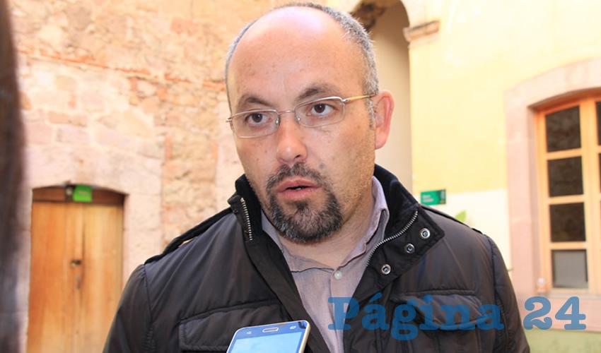 Everardo Ramírez Aguayo, Comisionado ejecutivo de Atención Integral a Víctimas (CEAIV) de Zacatecas (Foto Archivo Página 24)