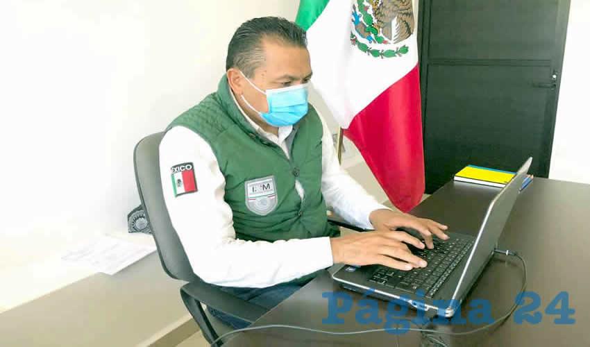 Ignacio Fraire Zúñiga, delegado en Zacatecas del Instituto Nacional de Migración (INM) (Foto Archivo Página 24)