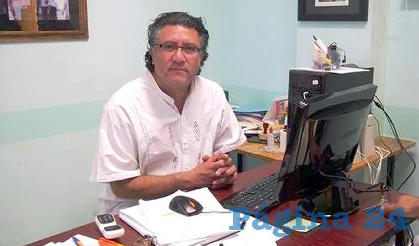 Teodoro Campos Mireles, integrante de la Comisión Ejecutiva Nacional del Partido del Trabajo (Foto: Cortesía)