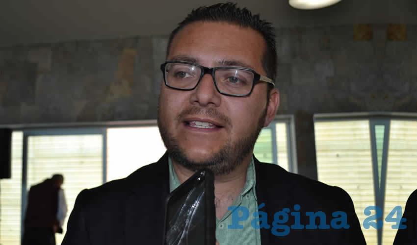 Salvador Esaú Constantino Ruiz, titular de la Procuraduría de Protección al Ambiente del Estado (Foto: Archivo Página 24)
