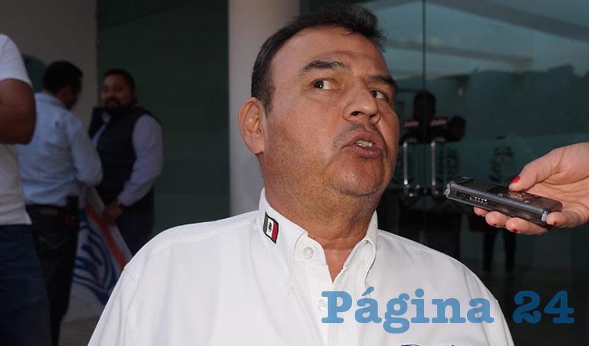 Pedro Martínez Flores, diputado local por el Partido Acción Nacional (Foto: Archivo Página 24)
