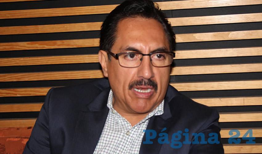 Camerino Eleazar Márquez Madrid, representante del Partido de la Revolución Democrática (Foto: Archivo Página 24)