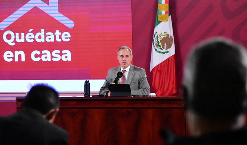 En la conferencia de este lunes, el subsecretario Hugo López-Gatell dijo que el presidente es uno de los que están en la lista de contactos,