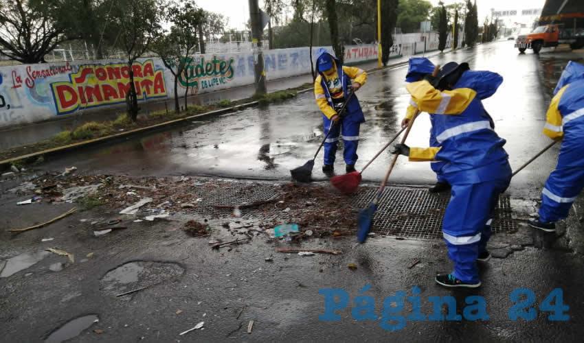 Intensifica Municipio el Operativo de  Limpieza Para Prevenir Inundaciones
