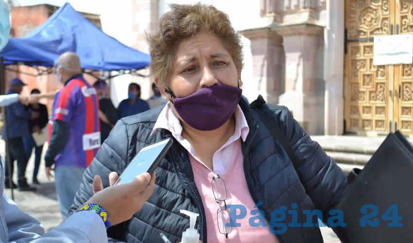 María Elena Ortega Cortés (Foto: Archivo Página 24)