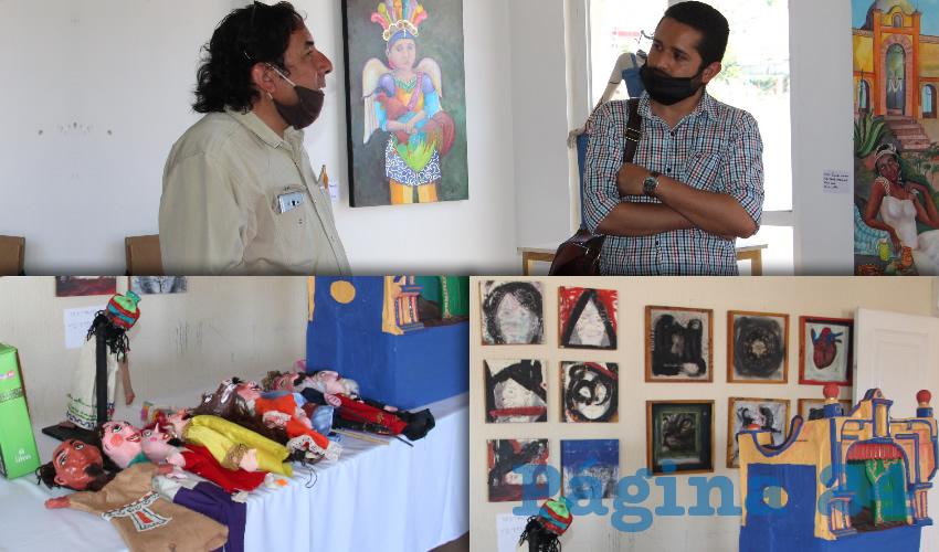 """Distintos talleres, artistas, colectivos y narradores se reunieron para exponer """"Alcalinos del Arte"""" (Foto: Rocío Castro Alvarado)"""