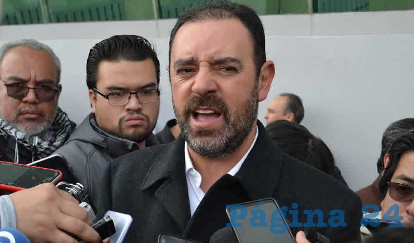 Alejandro Tello Cristerna, gobernador de Zacatecas (Foto: Archivo Página 24)