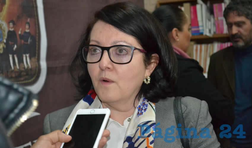 Marivel Rodríguez Benítez, tesorera del ayuntamiento capitalino (Foto Archivo Página 24)