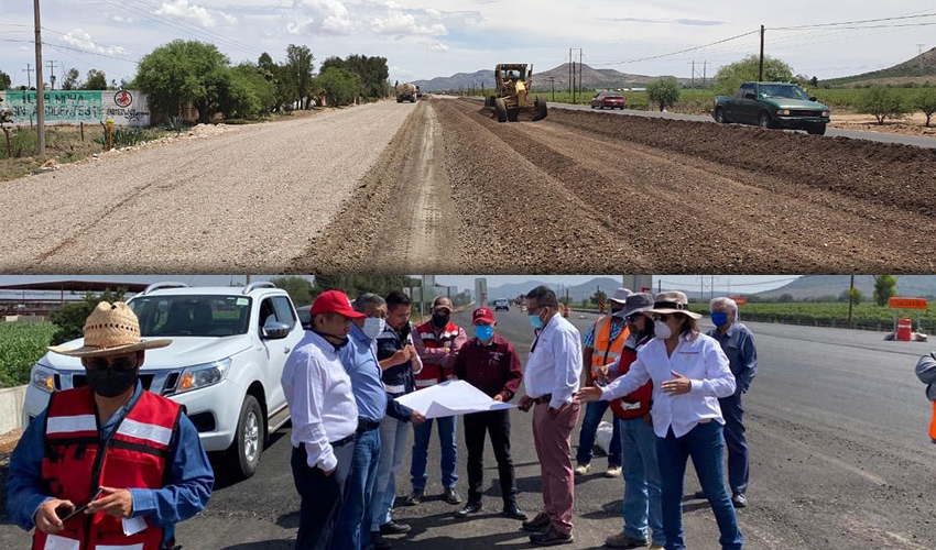 SCT: Avanza la Ampliación de la Carretera Zacatecas-Aguascalientes