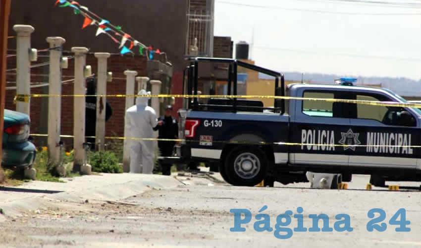 La llegada de la policía municipal