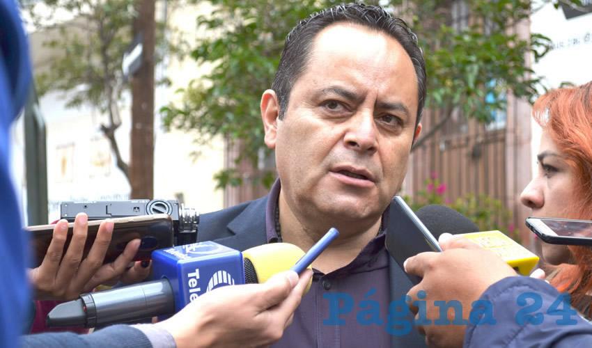 Antonio Caldera Alaniz, titular de la Dirección Estatal de Protección Civil (PC) (Foto Archivo Página 24)