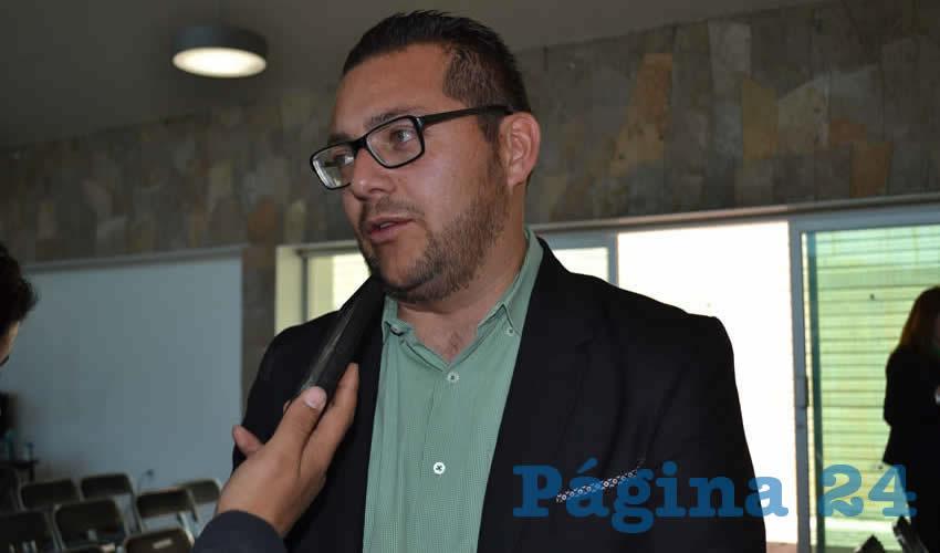 Salvador Esaú Constantino Ruiz, titular de la Procuraduría Estatal de Protección Ambiental (Proepa) (Foto Archivo Página 24)