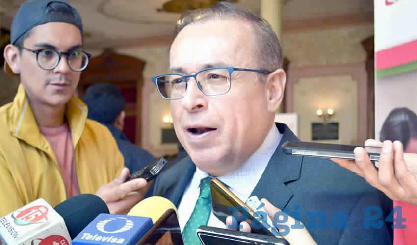 Arturo Nahle García, magistrado presidente del Tribunal Superior de Justicia del Estado (TSJEZ) (Foto Archivo Página 24)