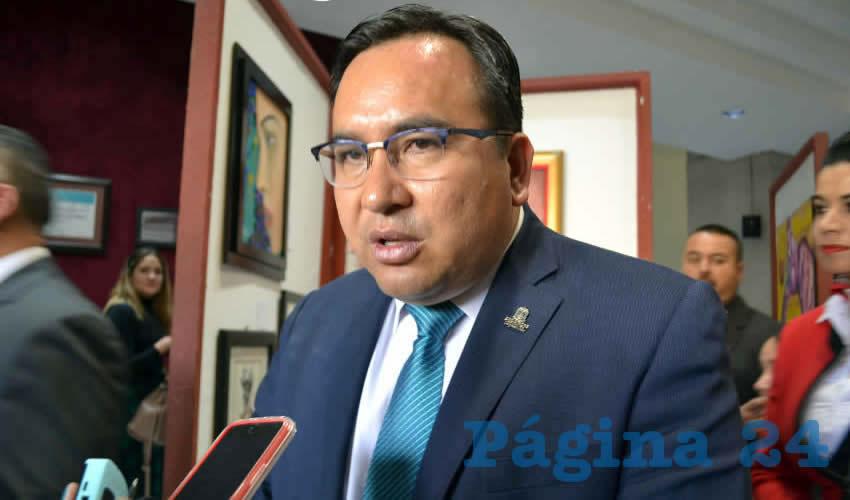 Jaime Flores Medina, secretario Ejecutivo del Sistema Estatal de Seguridad Pública (Foto Archivo Página 24)