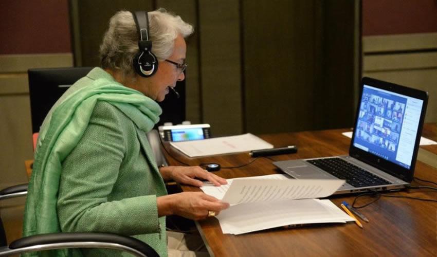 La Secretaria de Gobernación, Olga Sánchez Cordero, afirmó que el bienestar de niñas, niños y adolescentes es una de las prioridades del proyecto de la Cuarta Transformación