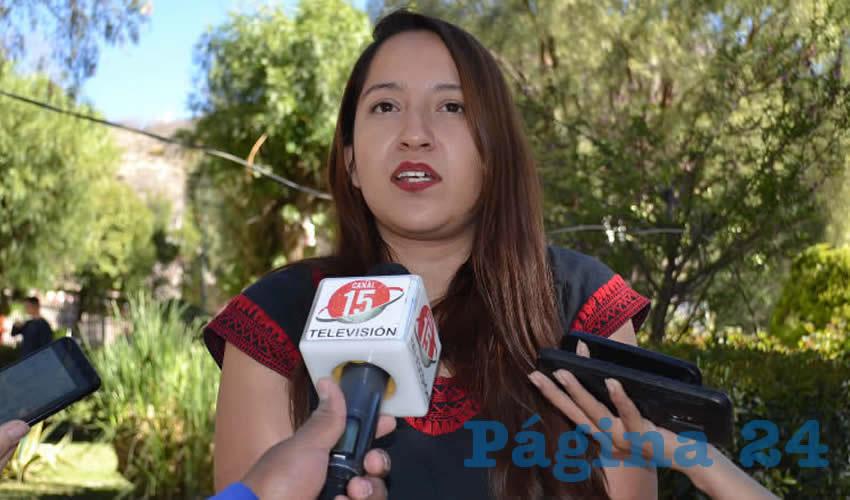 Emilia Pesci Martínez, directora del Instituto Municipal de las Mujeres Zacatecanas para la Igualdad (Inmuzai) (Foto Archivo Página 24)