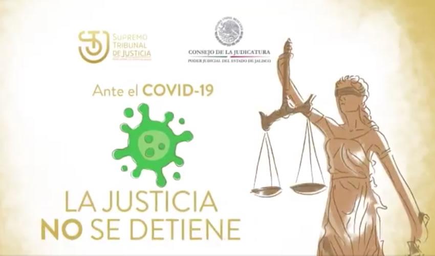 Tras más de cuatro meses de permanecer cerrados los juzgados en Jalisco debido a la pandemia de coronavirus, al fin regresaran a trabajar a partir del próximo lunes 3 de agosto, aunque habrá restricciones/Foto: Twitter @supremotibjal