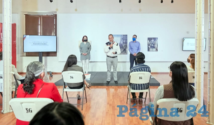 Santa Ana Zaldívar refirió que en Aguascalientes se estima una red de más de mil emprendedores y empresarios relacionados al sector cultural