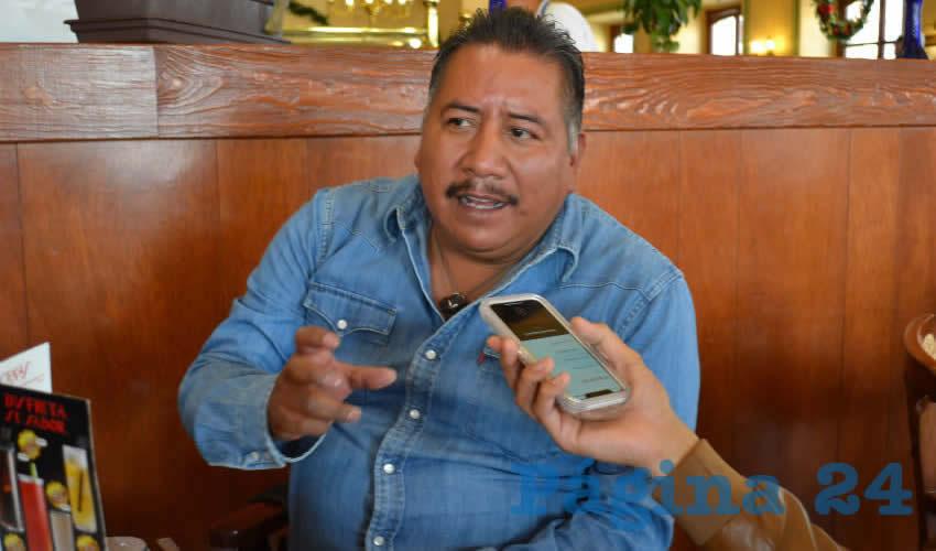 Felipe Pinedo Hernández, activista social y miembro del Frente Popular de Lucha por Zacatecas (FPLZ) (Foto: Archivo Página 24)