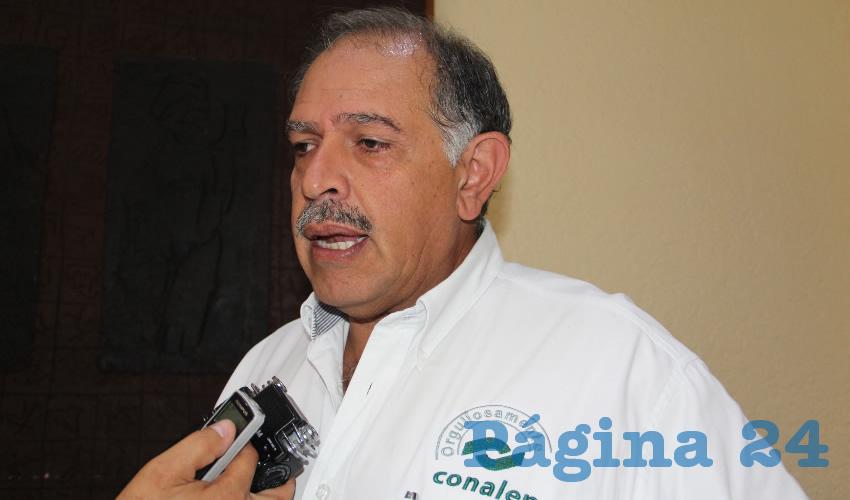Edmundo Benjamín Morones Dueñas (Foto Archivo Página 24)
