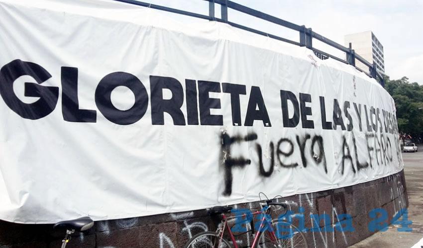 """Desaparecidos no urgen para Alfaro"""