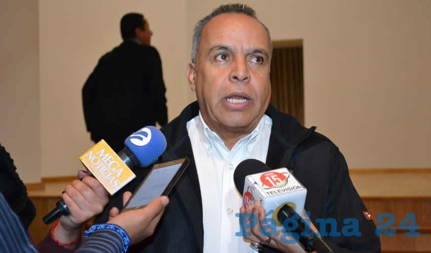 Cliserio del Real Hernández, titular del Servicio Nacional de Empleo (SNE) en Zacatecas (Foto Archivo Página 24)