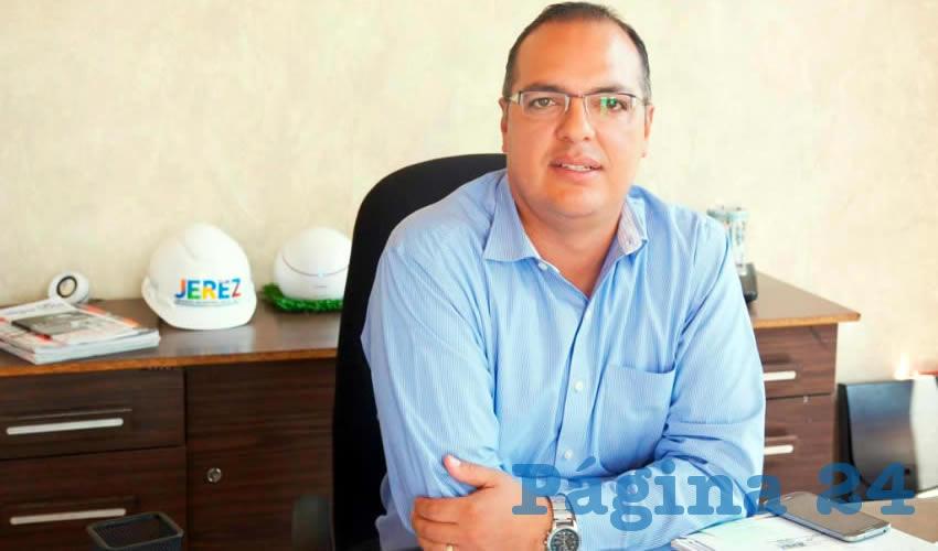 José Ángel Flores Gutiérrez, director de Obras y Servicios Públicos del ayuntamiento de Jerez (Foto: Cortesía)
