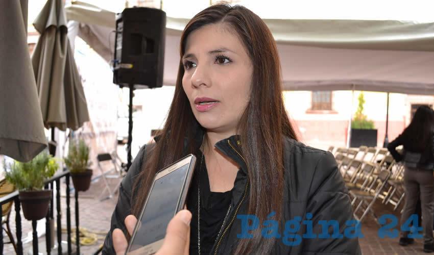 Gabriela Pinedo Morales, diputada local por el Partido del Trabajo (PT)