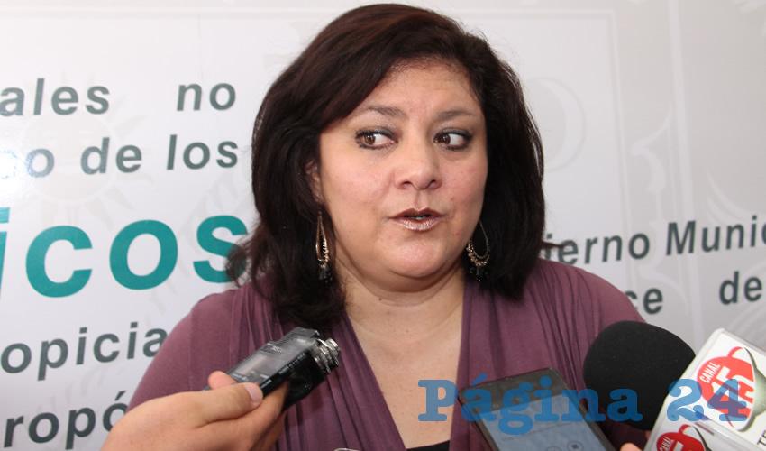 Katia Trejo Cárdenas, jefa de Ecología y Medio Ambiente del ayuntamiento capitalino (Foto Archivo Página 24)